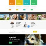 Pet Sitting sample website